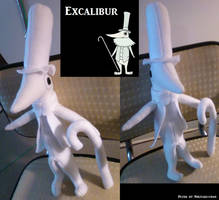 Excalibur Plush by eternityOnlooker