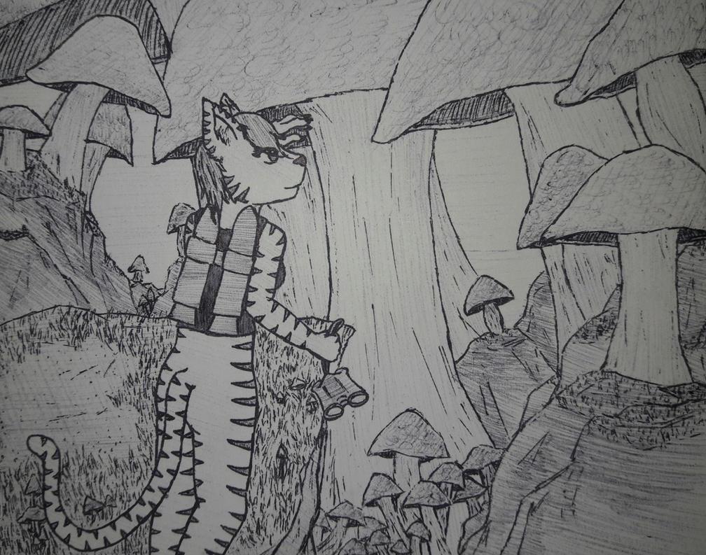 Drawing Challenge Day 21 - Big by eternityOnlooker