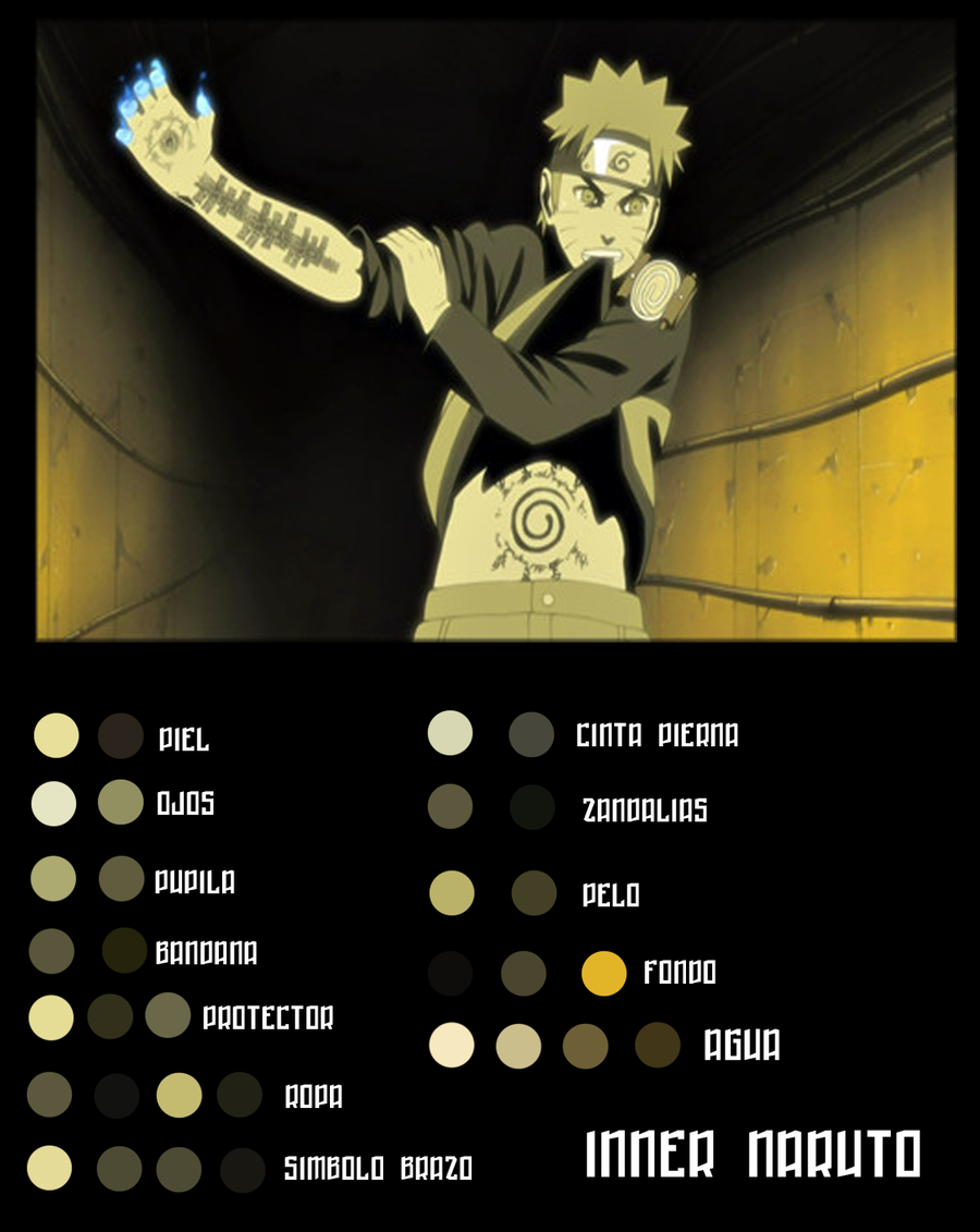 Hexas - Inner Naruto y Ambiente by Shonen-CG