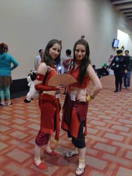 Firebender Girls - Anime Boston 2013