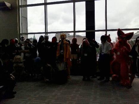 Naruto Photoshoot (full group) - Anime Boston 2013