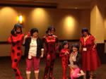 Ladybugs and Marinettes - Anime Boston 2017