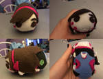 Overwatch Dva Stackable Tsum Plush For Sale
