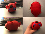 Miraculous Ladybug Tikki Stacking Tsum Plush