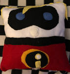 Disney The Incredibles Mr Incredible Pillow Plush
