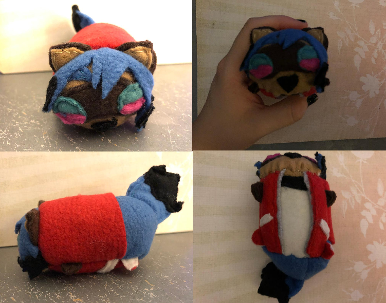 Bna Michiru Kagemori Stacking Plush For Sale By Dantestobari On Deviantart