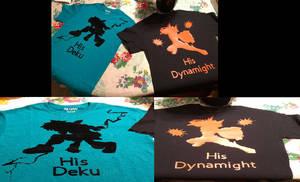 My Hero Academia BakuDeku Shirts