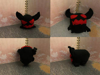 OC Anxiety Demon Small Stacking Plush Commission