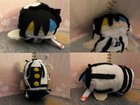 Demon Slayer Obanai Iguro Smedium Plush For Sale