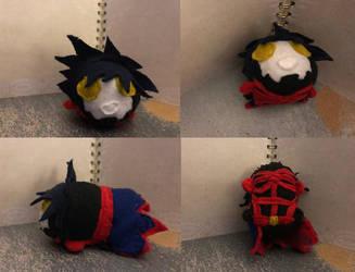 Kingdom Hearts Vanitas Small Stacking Plush