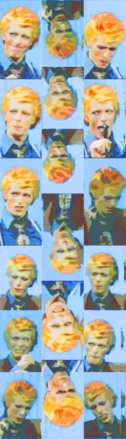 Warholism background - D.Bowie by TrizDarmon