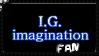 My First Stamp - I.G.imagination Logo - Fan by I-G-imagination