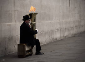 Leicester Tuba Man by kelley-a