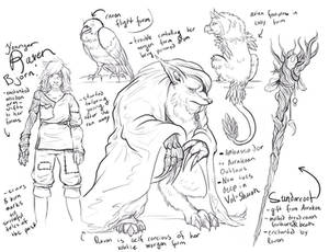 Character Reference sketches