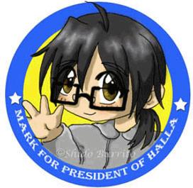 Mark For President of Halla by shido-burrito