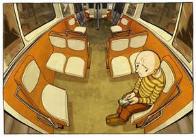 Dans le metro by caacrinolas