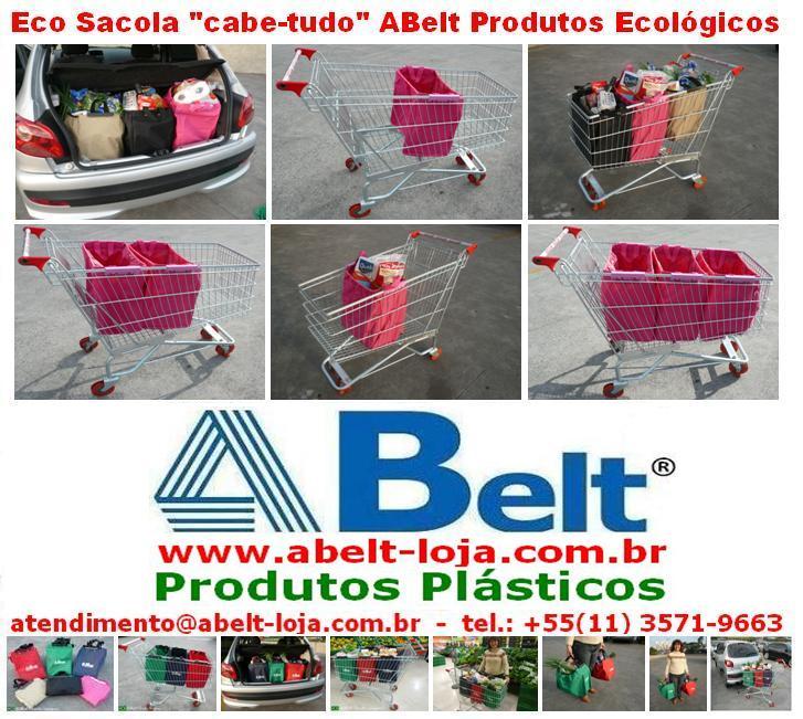 Sacola cabe-tudo para carrinho by ABeltGroup