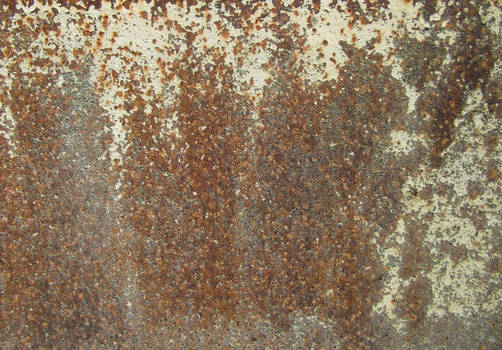 Rusty Weathered Metal Texture