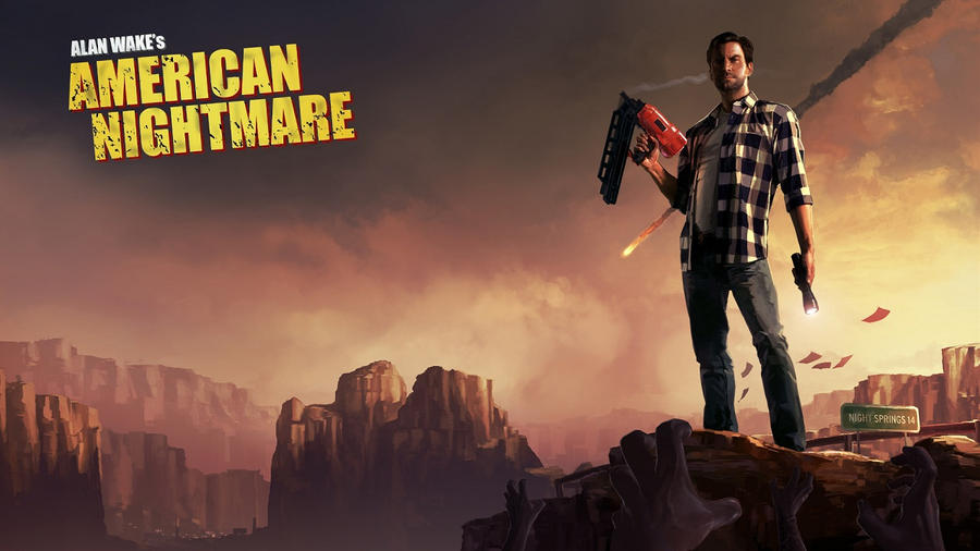 Alan Wake's American Nightmare by gamergaijin