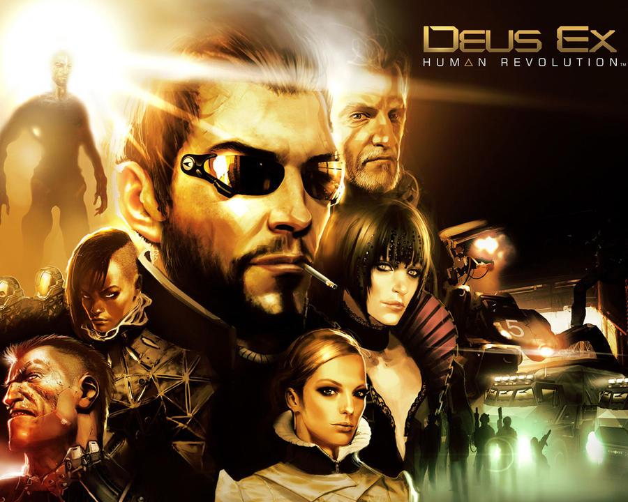 Deus Ex: Human Revolution by gamergaijin