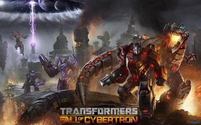Transformers: Fall of Cybertron by gamergaijin