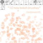 New Bokeh Brushes