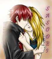 Sasodei: All I want is... by ninjagirl-rukai
