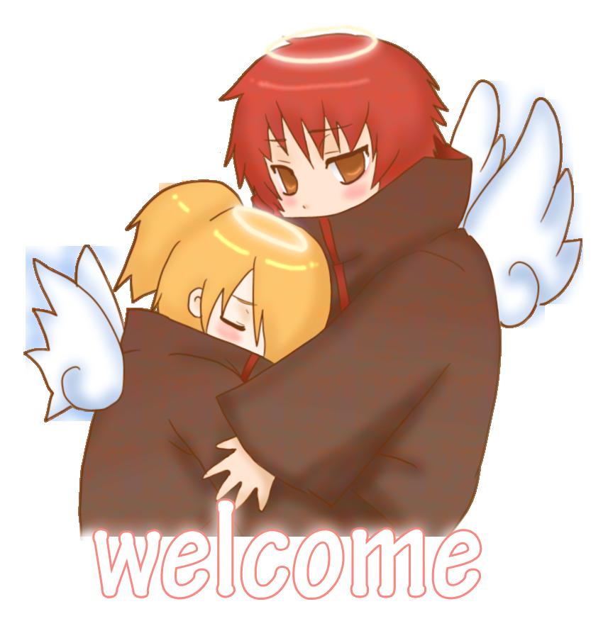 new chibi sasodei webcamX3 by ninjagirl-rukai