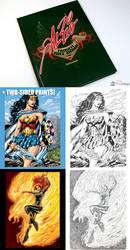 Al Rio Memorial Art Book and 2 prints by AlRioArt