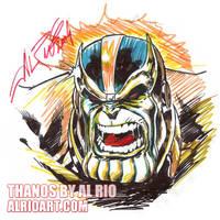 Thanos by Al Rio