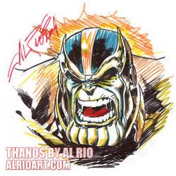 Thanos by Al Rio by AlRioArt