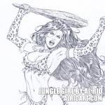 Jungle Girl by Al Rio