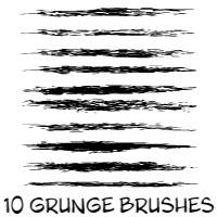 Free grunge brushes Illustrator CS by Brushportal on DeviantArt