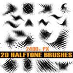 Halftone Brush Pack 2
