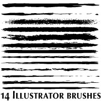 Art Illustrator Brushes by Brushportal