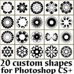 Circular Abstract Custom Shapes