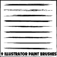 Illustrator Artistic Brushes by Brushportal