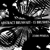 Brushportal's Brush Kit - 2500 pixels by Brushportal