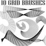 Grid Brushes for Adobe Illustrator