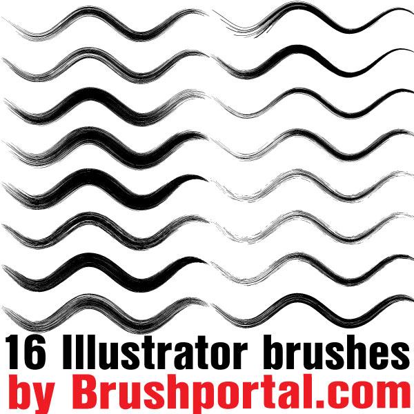 Free Illustrator Brushes by Brushportal on DeviantArt