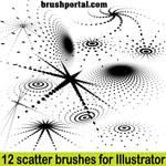 Illustrator scatter brushes - free set