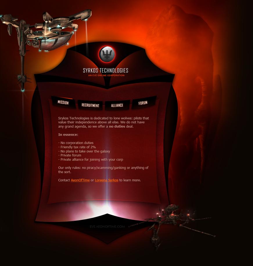 Syrkos Technologies, V2 by AeonOfTime