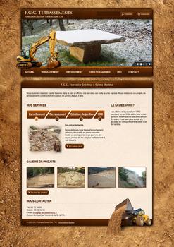 FGC Terrassements Website