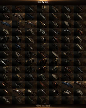 The Ships Of EVE Online 2014: Amarr Empire