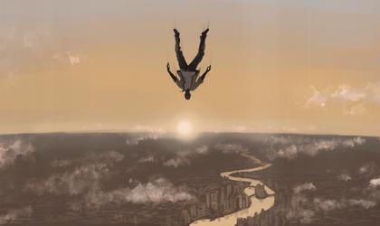 Falling by Jikaz