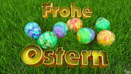Frohe Ostern by TRSEpyx