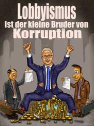 Voss Plakat Lobbyismus #Artikel13 #Artikel11 by TRSEpyx