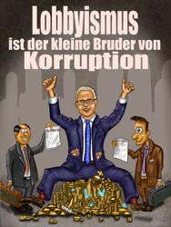 Voss Plakat Lobbyismus #Artikel15 #Artikel17 by TRSEpyx