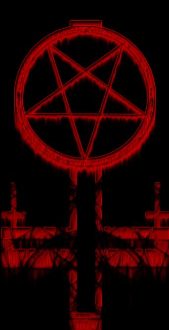 Satanic Cross by FurryWolf