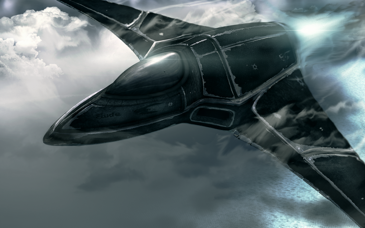 Future Fighter Jet - Final by Elude7
